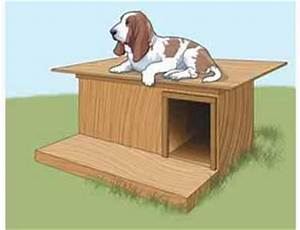 more free dog house plans to build With flat roof dog house plans