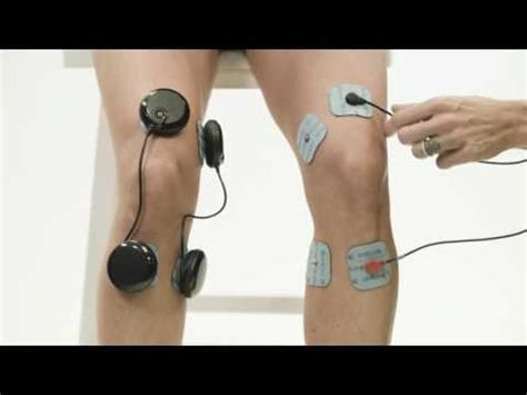 Compex Muscle Stim Pad Placement for Medial Knee Pain