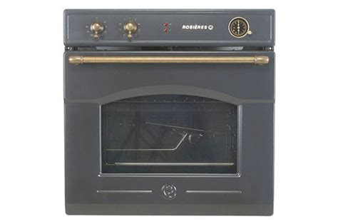 destockage cuisine four encastrable rosieres rft 5577 av anthracite