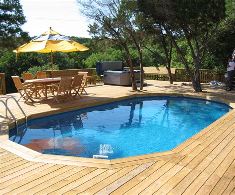 Patio And Pool Deck Ideas by Best Swimming Pool Deck Ideas