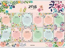 CALENDRIER COMPLET ANNÉE #2018 – PAON PAON