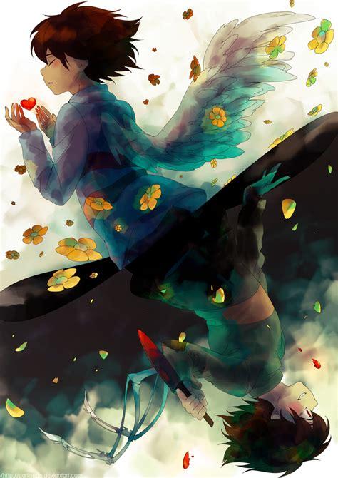 Anime Wallpaper Fanart - undertale fanart zerochan anime image board