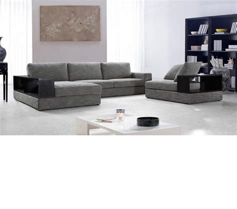 chaise casa dreamfurniture com divani casa anthem modern fabric