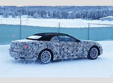 2020 BMW 8 Series Convertible Undergoes Winter Testing