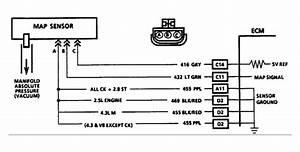 Solved  1991 Chevy C  K 2500 5 7l Map Sensor-engine