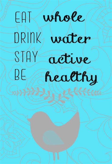 quotes  staying healthy  quotes