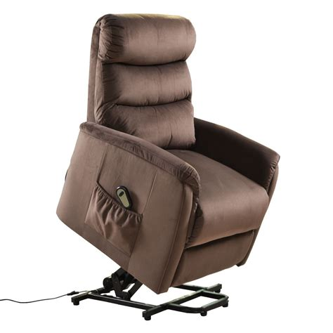 Electric Lift Recliners by Luxury Power Lift Chair Recliner Armchair Electric Fabric