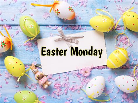 easter monday celebrated