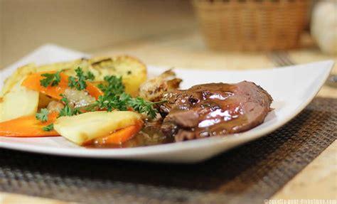 recette de cuisine midi en rôti de filet de boeuf et ses légumes au four