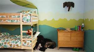 comment creer une chambre jungle pour votre enfant With comment peindre une chambre d enfant