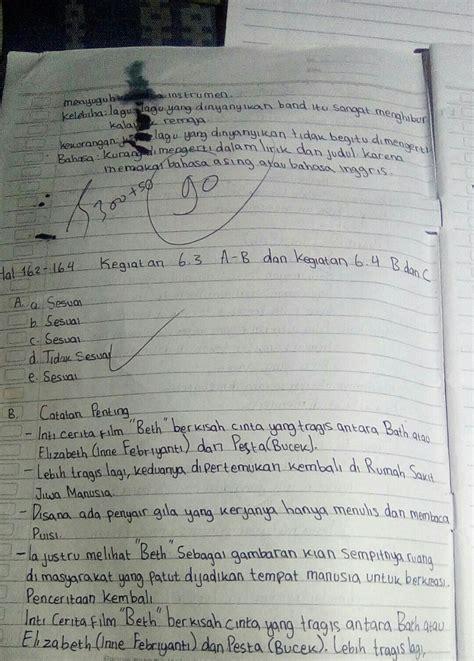 Simple past (past simple and continuous). Jawaban Bahasa Inggris Kelas 8 Halaman 63 - Guru Ilmu Sosial