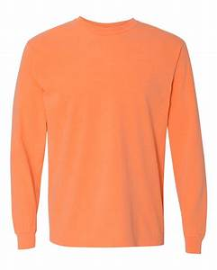 Comfort Colors - Garment Dyed Heavyweight Ringspun Long ...