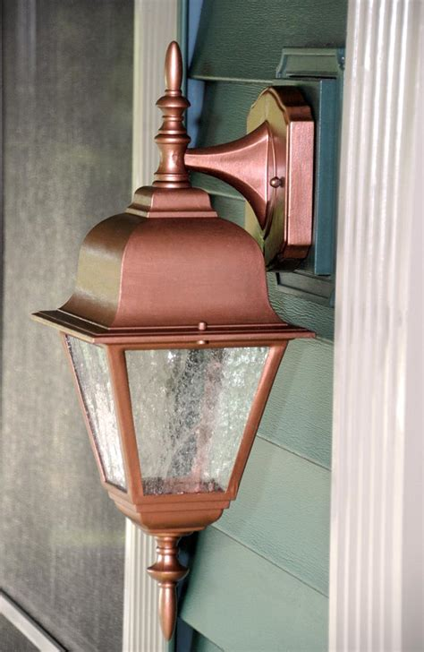 solid copper outdoor lighting fixtures lilianduval