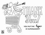 Coloring Grocery Sheets Pages Nico Sheet Popular Supermarket sketch template