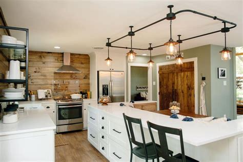 Kitchen Paint Ideas For Small Kitchens - fixer upper mid century lighting the harper house