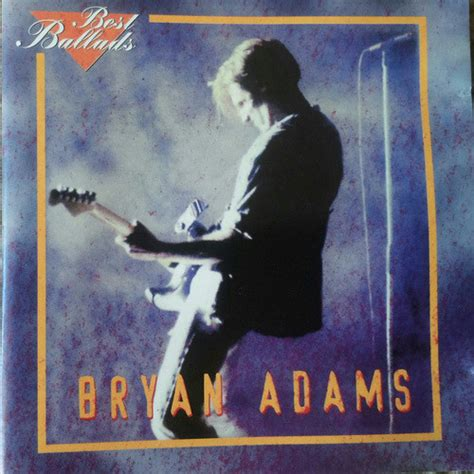 Bryan Adams  Best Ballads (cd) At Discogs