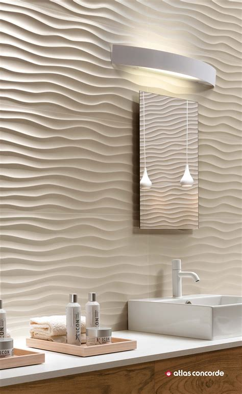 Tile Designs For Bathroom Walls by 3d Wall Design Three Dimensional And Spectacular Ceramic