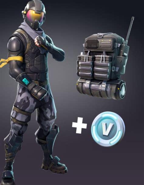 games fortnite starter pack legendary skin  backpack