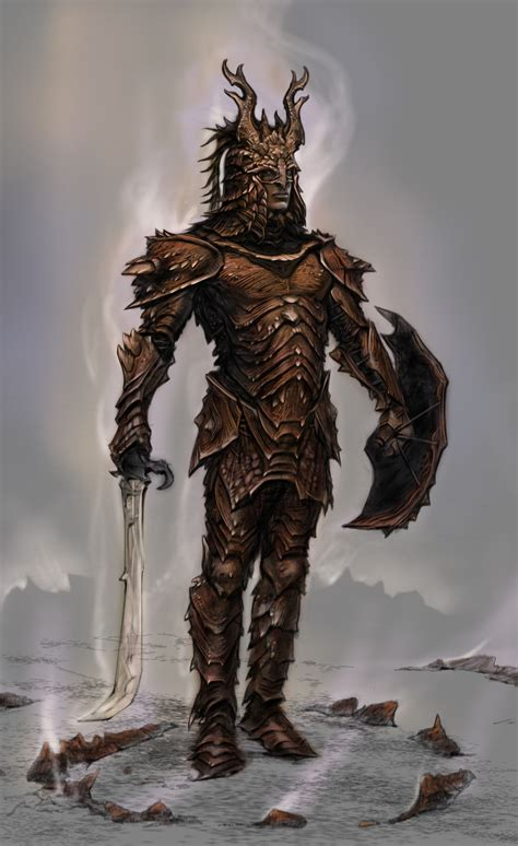 Dragon Armor In 2019 Skyrim Dragon Armor Dragon Armor