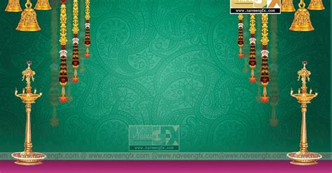 stage background design template  vinayaka chavithi