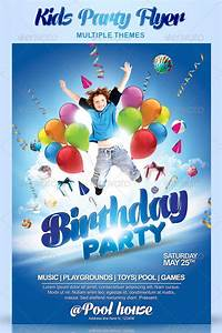 Event Invitation Templates Free 27 Kids Party Flyer Templates Free Premium Download
