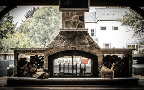 Double Sided Outdoor Fireplace With Deck And Pavilion Fire Rocks For Fireplace Hearth Cleaner Wood Basket How To Mount A Tv Above Electronic Fireplaces Electric Model Adl 2000m X Mantels Cast Stone Pellet Stove Inserts