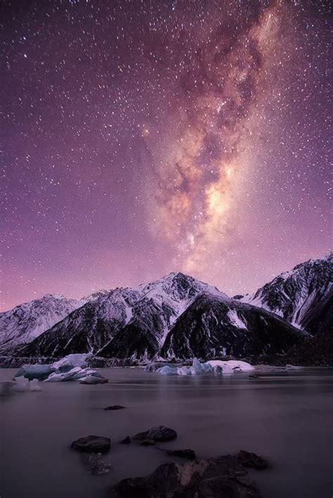 Mountain Of Stars Lake Tasman Mount Cook South Island