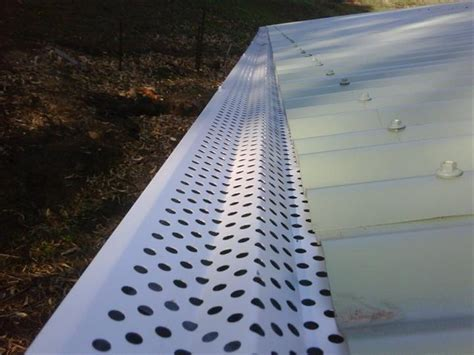 allclear leafguard gutter guards  clear leafguard