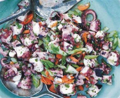 polpo insalata sedano insalata di polpo e sedano ricetta facile