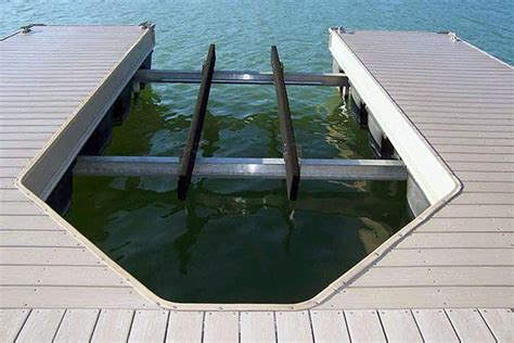 Floating A Boat Lift by Floating Dock Lifts Golden Boat Lifts