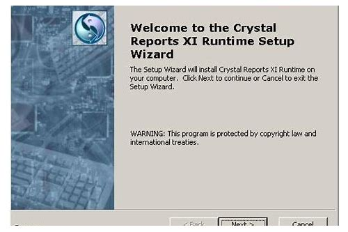 crystal reports runtime download 13