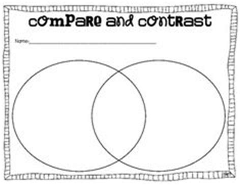 compare and contrast graphic organizer notebooking graphic organizers venn diagrams and