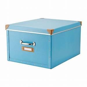Ikea Aufbewahrungsboxen Mit Deckel : fj lla box mit deckel blau ikea in bed with the best ~ Watch28wear.com Haus und Dekorationen