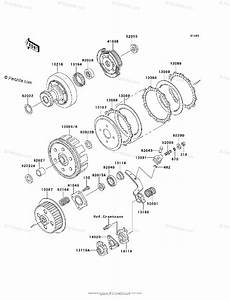 Kawasaki Atv 2005 Oem Parts Diagram For Clutch
