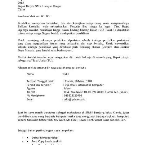 Contoh Surat Lamaran Kerja Cpns Kejaksaan Agung by Contoh Surat Lamaran Kerja Kejaksaan Agung 2017