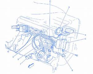 Chevy Blazer 1996 Dash Panel Electrical Circuit Wiring