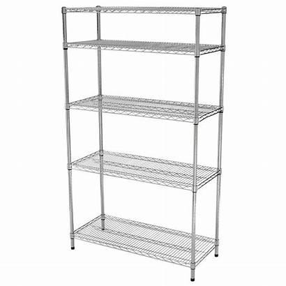Wire Shelf Chrome Hdx Unit 72 Shelving