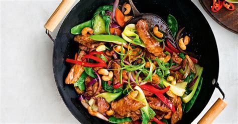 sticky chinese pork stir fry
