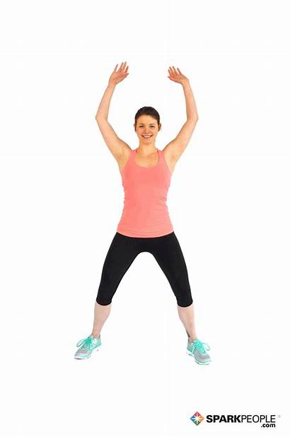 Jumping Jacks Workout Fitness Exercise Exercises Steps