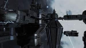 Eve Online - Caldari Space Station by Vollhov on DeviantArt