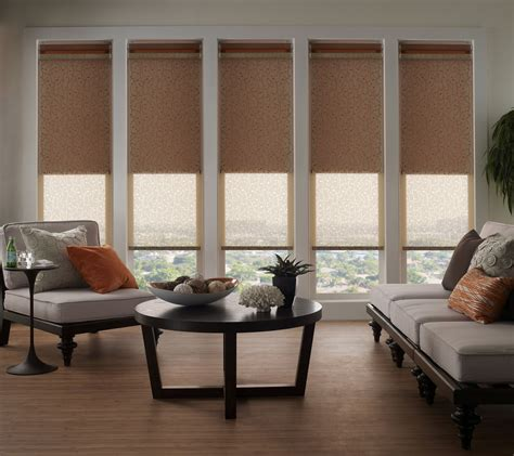 lutron motorized roller shades dual shade blackout
