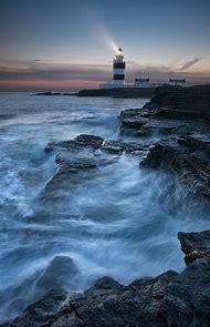 Lighthouse Ireland Landscape