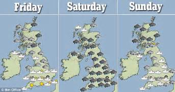 range weather forcast for uk nigeria news uk weather britain on flood alert as forecast to lash the country for 24