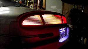 Stop Turn And Lights Oldsmobile Aurora Led Rear Deck Tails Finish Panel