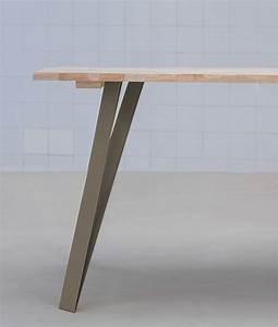 Pied De Table Basse Metal Industriel : graf fabricant de pieds de table et plateau en bois design ~ Teatrodelosmanantiales.com Idées de Décoration