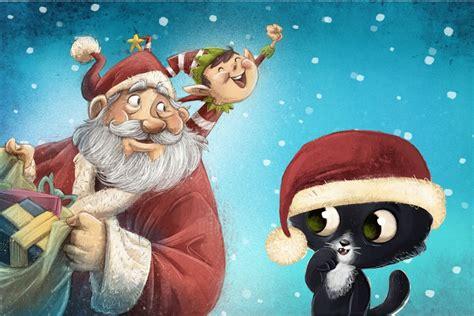 CUENTO INFANTIL: Los ayudantes de Santa Claus