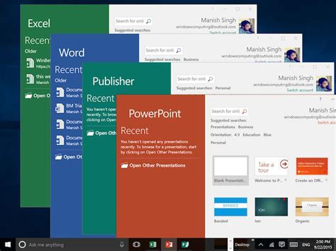 What S The Version Of Microsoft Office by Microsoft Office 2016 Launched Top 10 New Features Ndtv