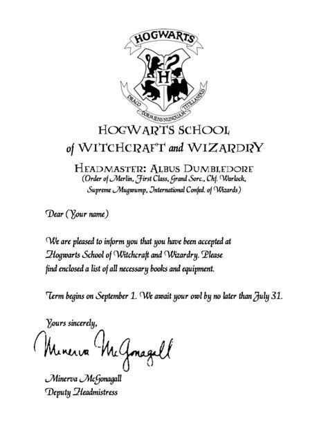 hogwarts acceptance letter printable demisiriusly