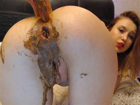 Russian Redhead Teen Dirtylena Shitting Anal Gape Loose Dildo Porn Videos