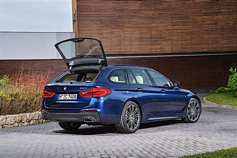Bmw 5 Series Wagon by Bmw Reveals 2017 5 Series Touring Wagon 5series Net